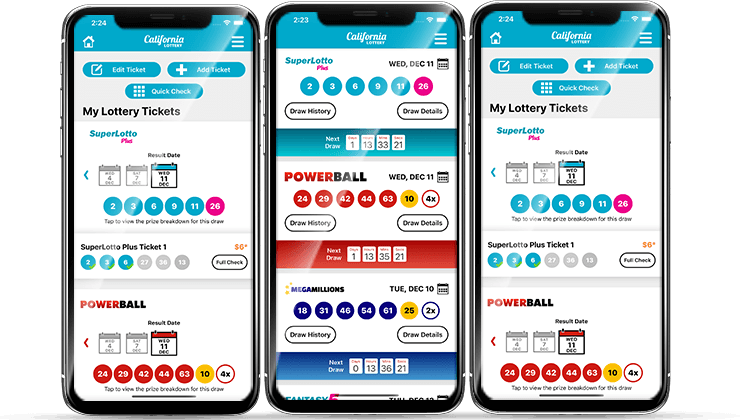 California Lottery App Screenshots