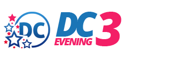 District of Columbia DC 3 Evening Logo
