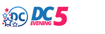 District of Columbia DC 5 Evening Logo