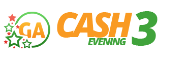 Georgia Cash 3 Evening Logo