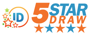 Idaho 5 Star Draw Logo