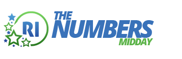 Rhode Island The Numbers Midday Logo