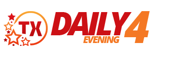 Texas Daily 4 Evening Logo